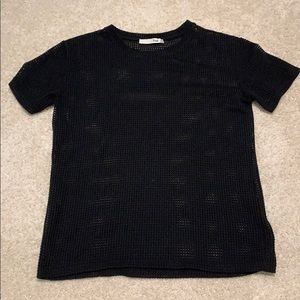 Aritzia black holes/ knit tee